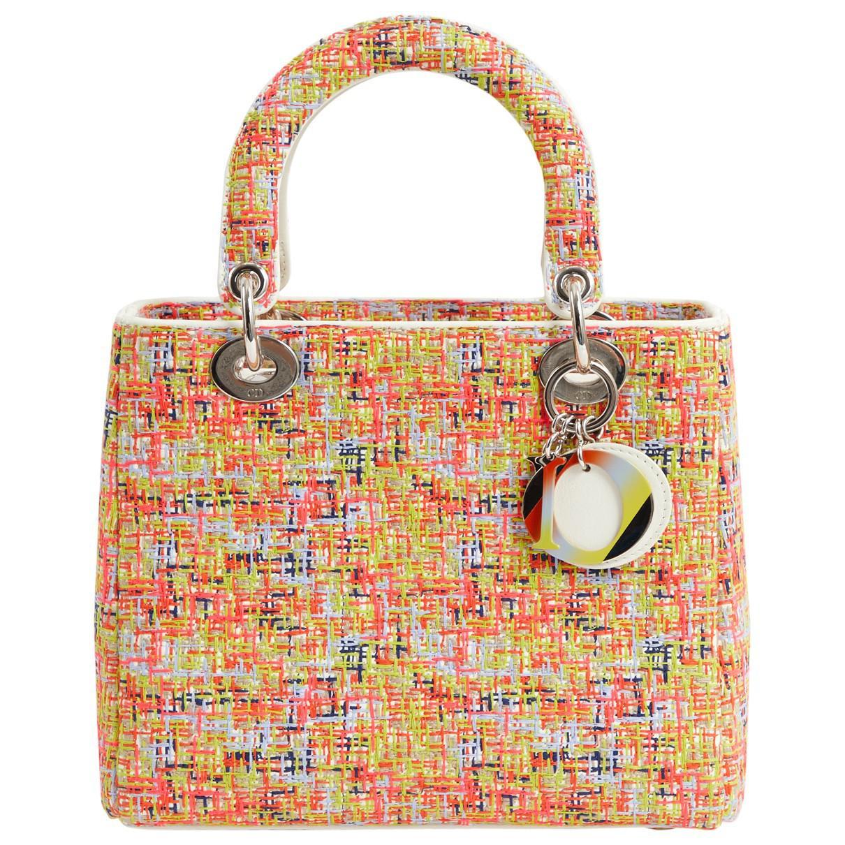2af0d299ac5b Dior. Women s Lady Multicolour Tweed Handbag