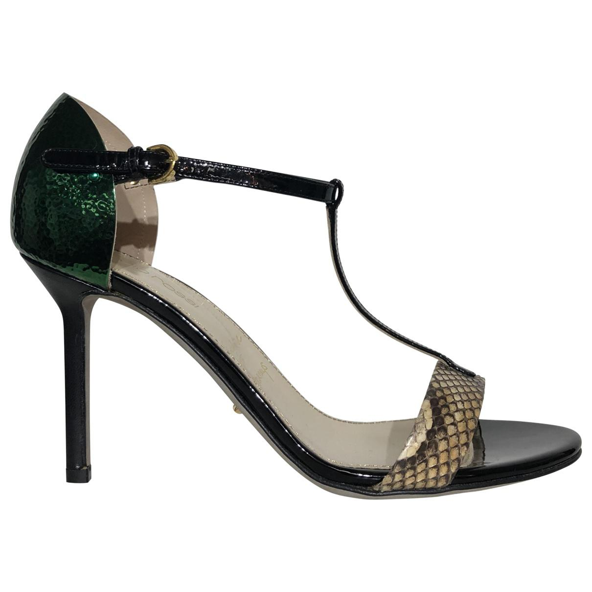 Pre-owned - Python sandals Sergio Rossi xvKCdUFg