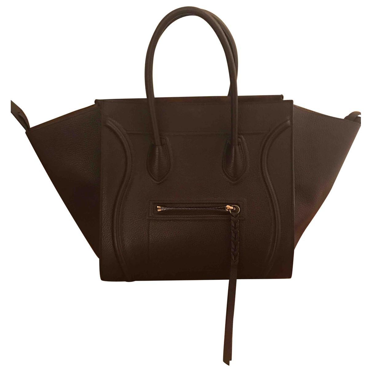 Pre-owned - Luggage Phantom leather bag Celine ibwEB5