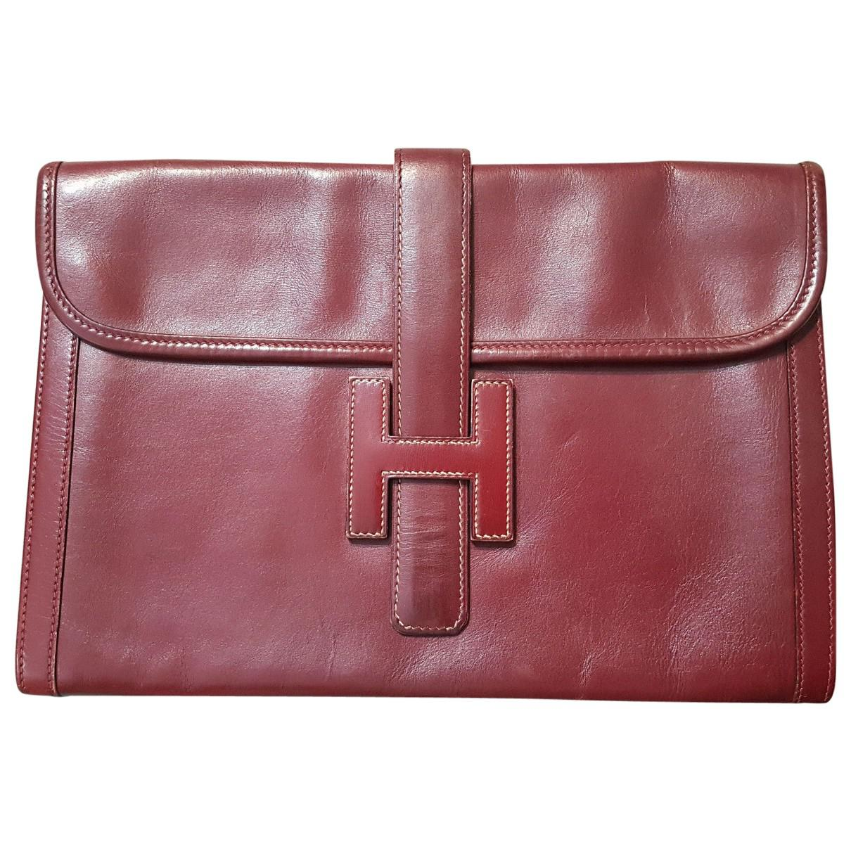 Hermès Pre-owned - Leather clutch bag OkRKI6
