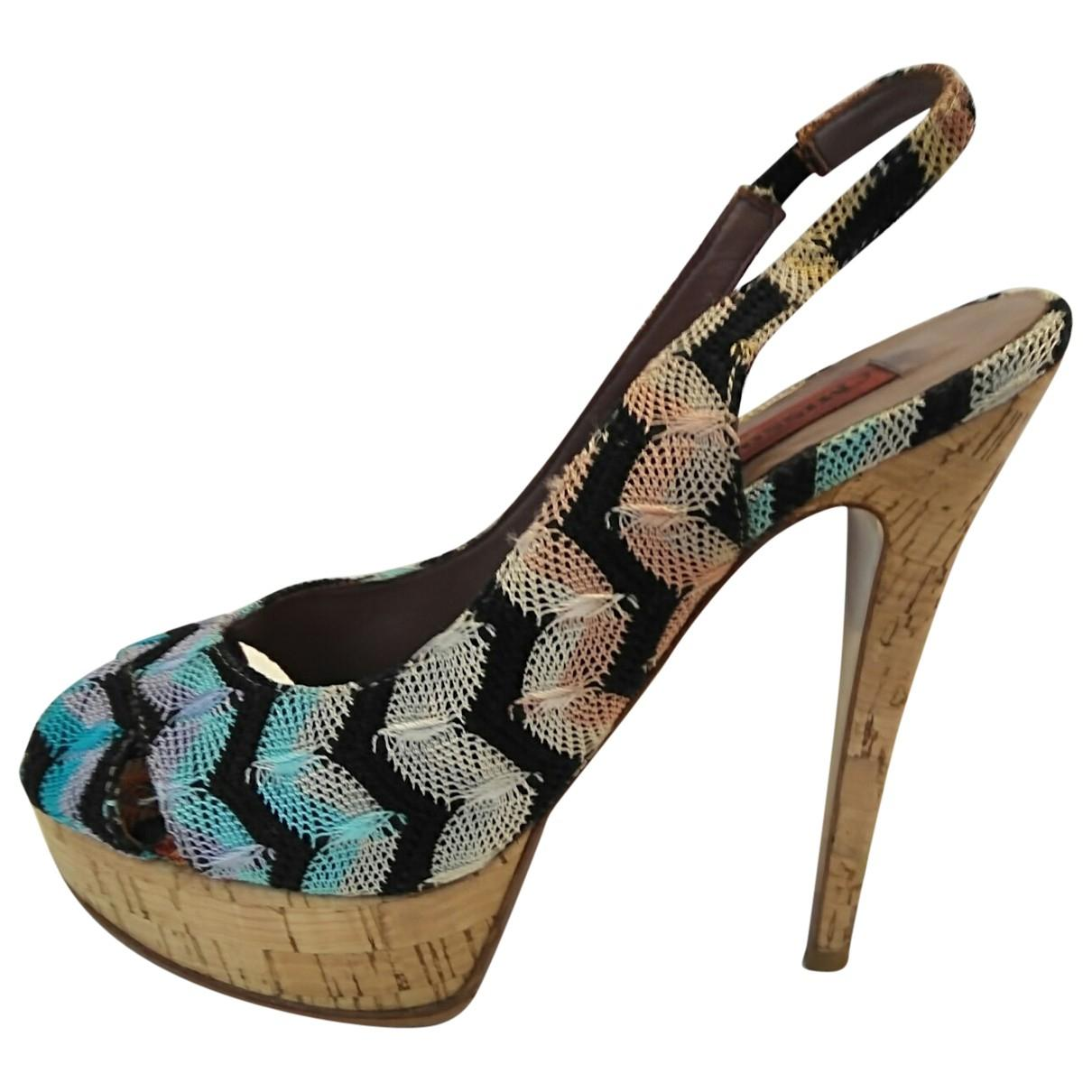 Pre-owned - Cloth heels Missoni Outlet Fake Cheap Price Store h3hCd