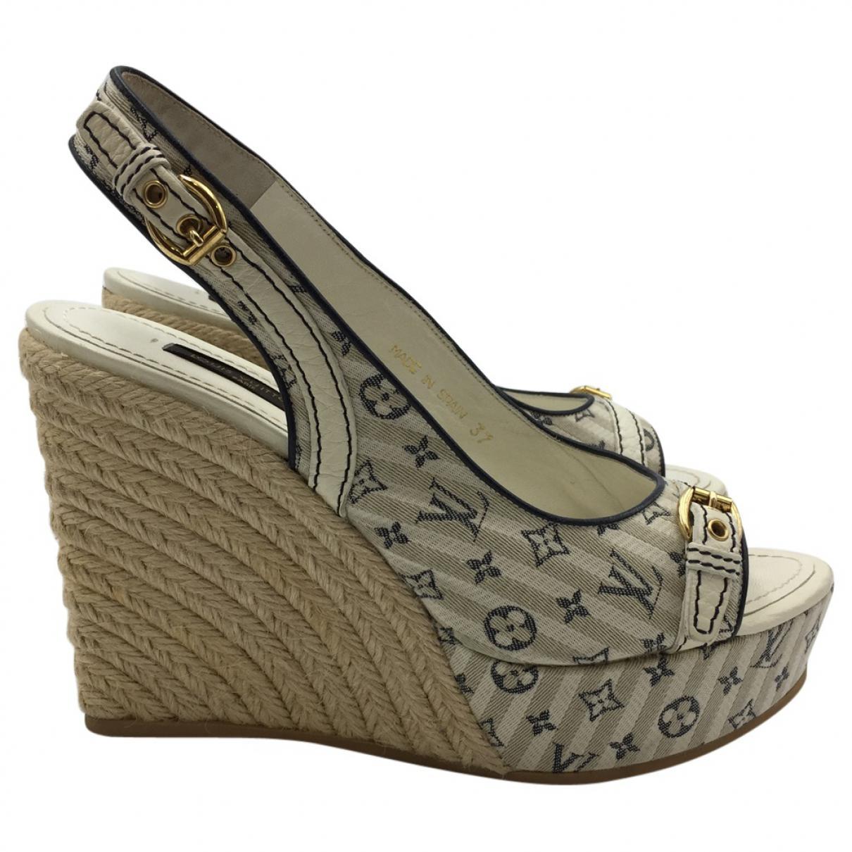Pre-owned - Cloth sandals Louis Vuitton qW4eg6u