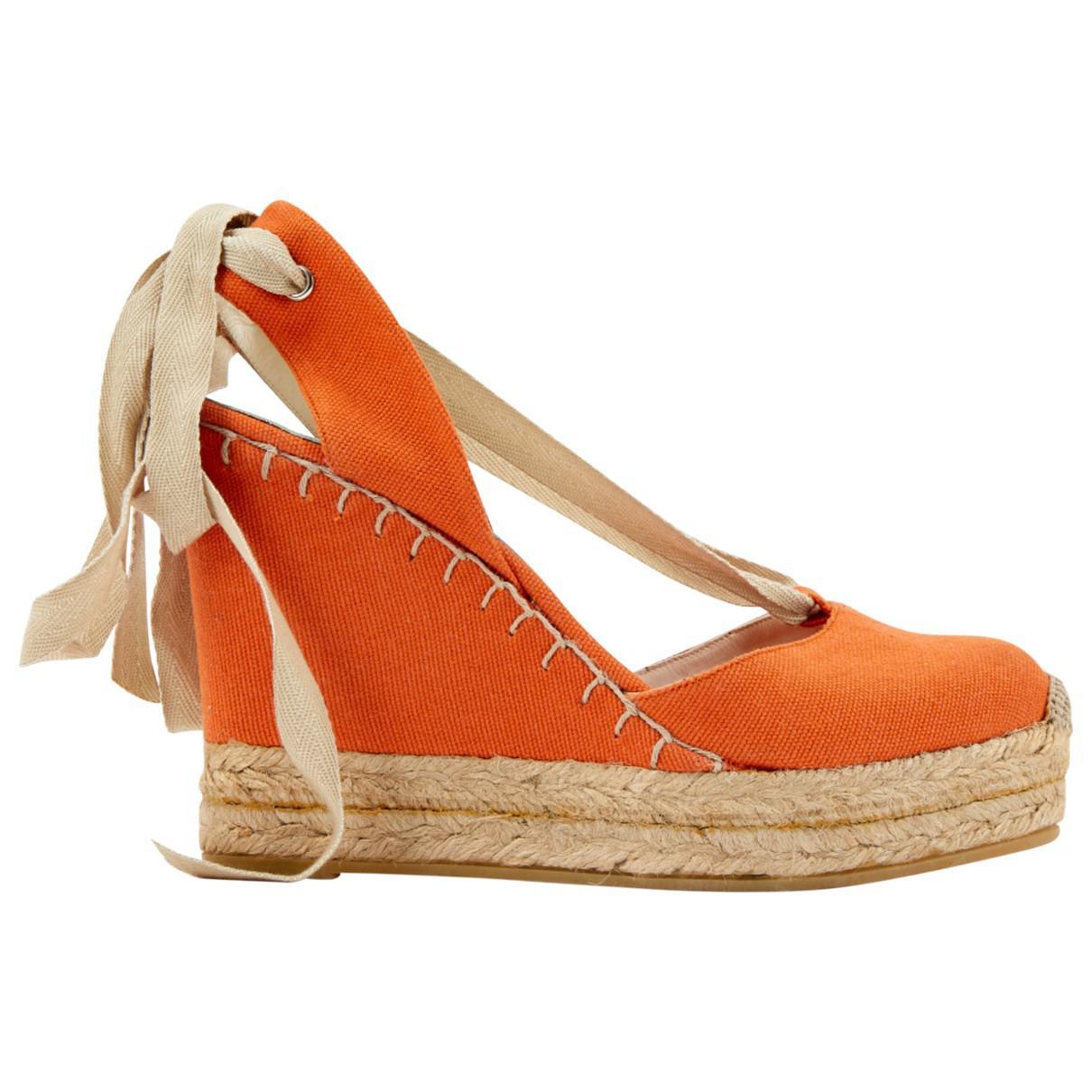 Ralph Lauren Cloth Heels