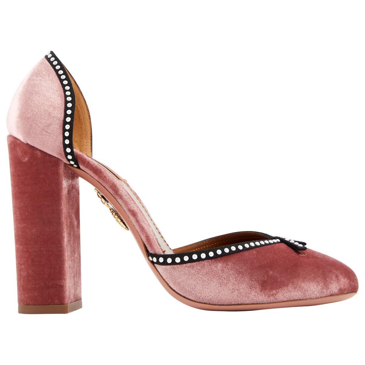 Pre-owned - Velvet heels Aquazzura y3csEeLA