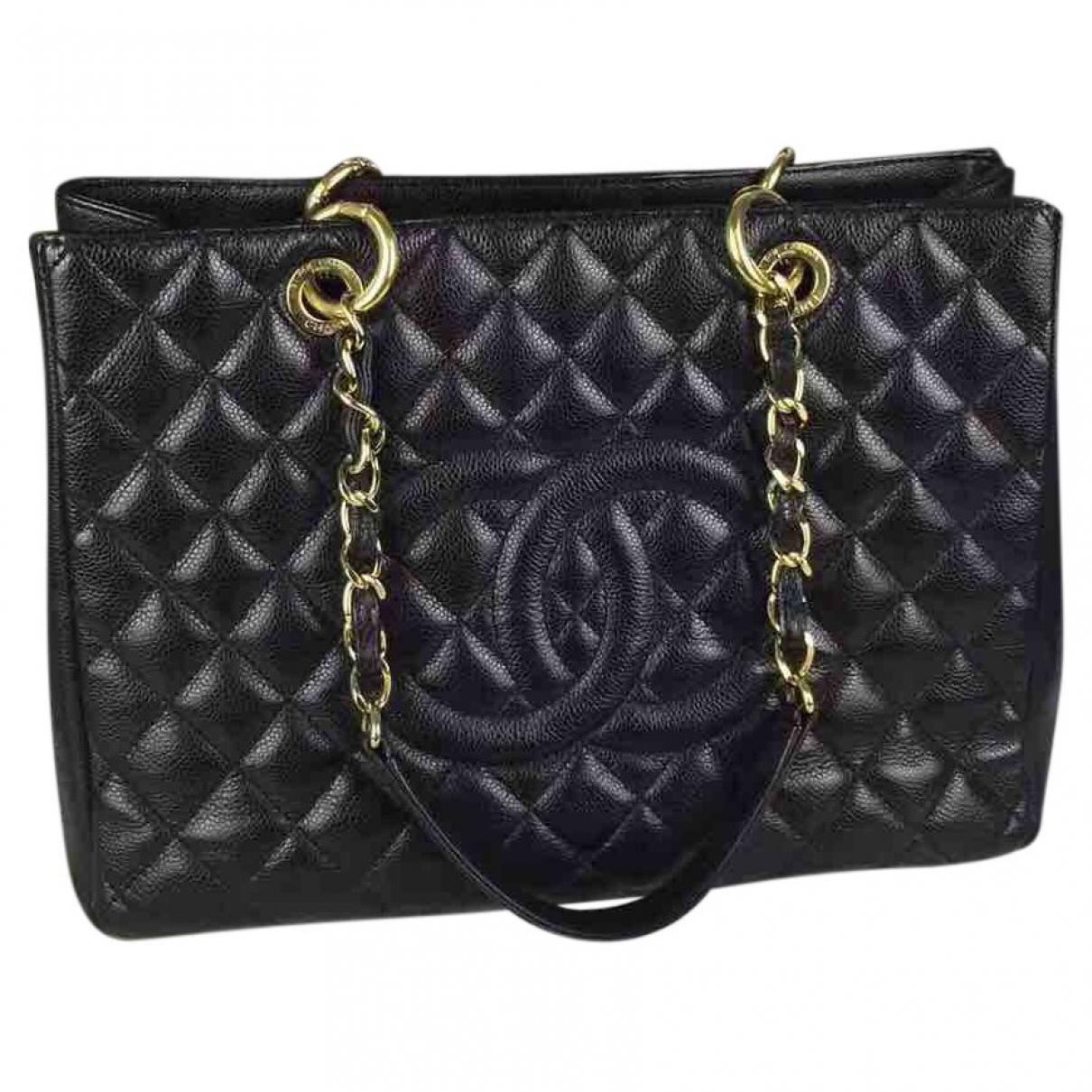 Pre-owned - Grand shopping leather handbag Chanel XiS7LBh0