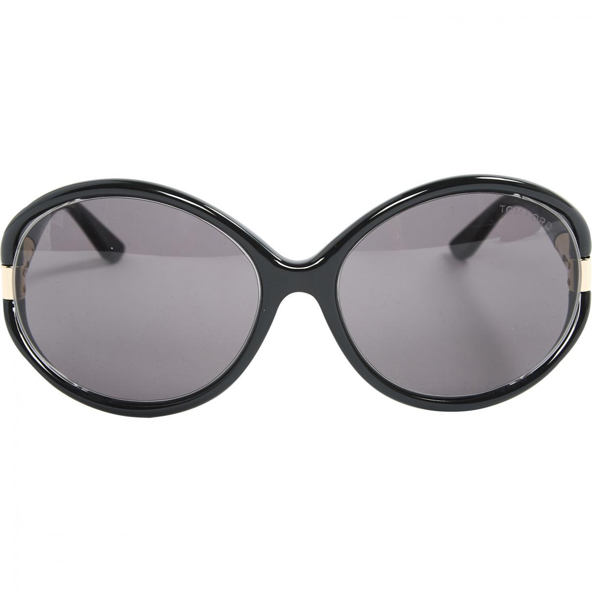 eb5902f50b9 Lyst - Tom Ford Oversized Sunglasses in Black