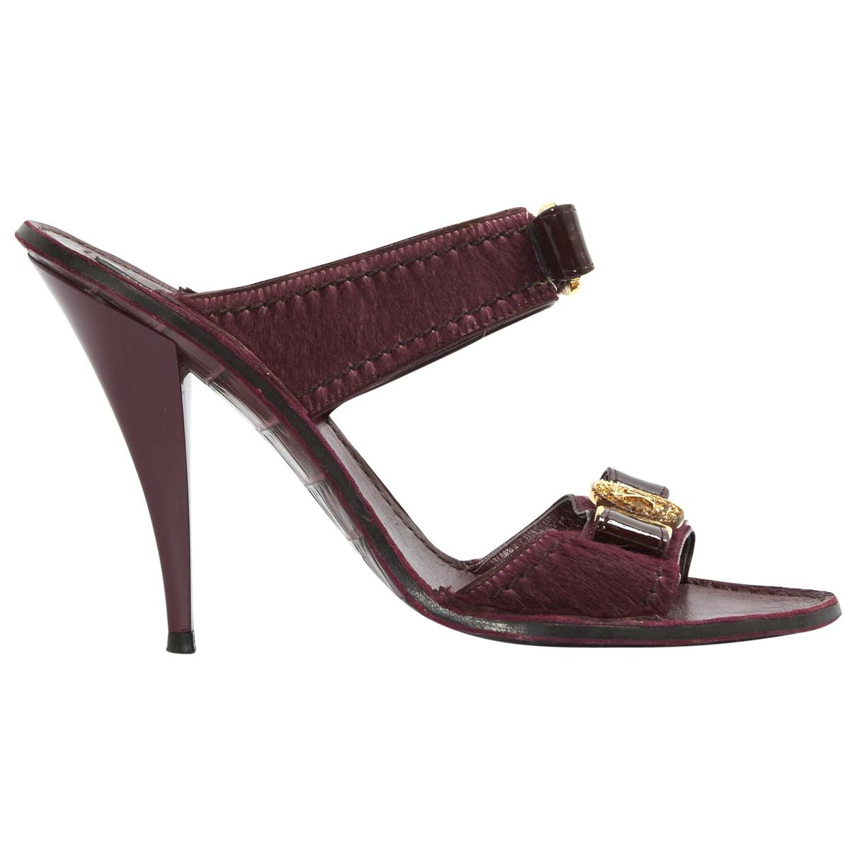Pre-owned - Pony-style calfskin heels Marc Jacobs ipdWYFE