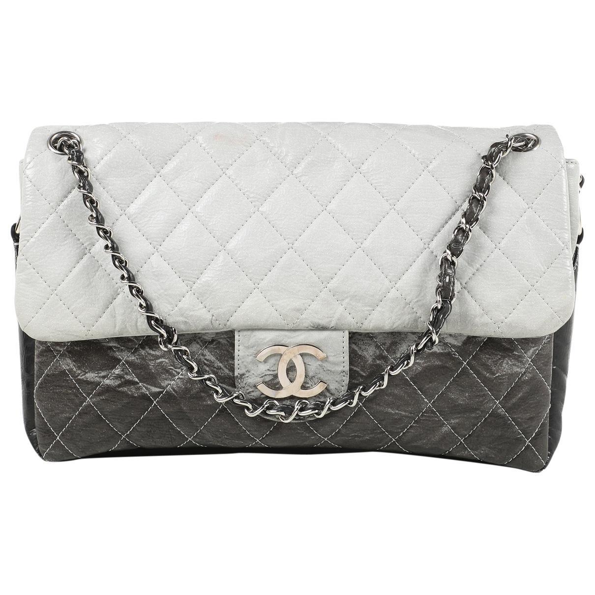 d2215fc5d3f8 Chanel - Gray Timeless/classique Grey Plastic Handbag - Lyst. View  fullscreen