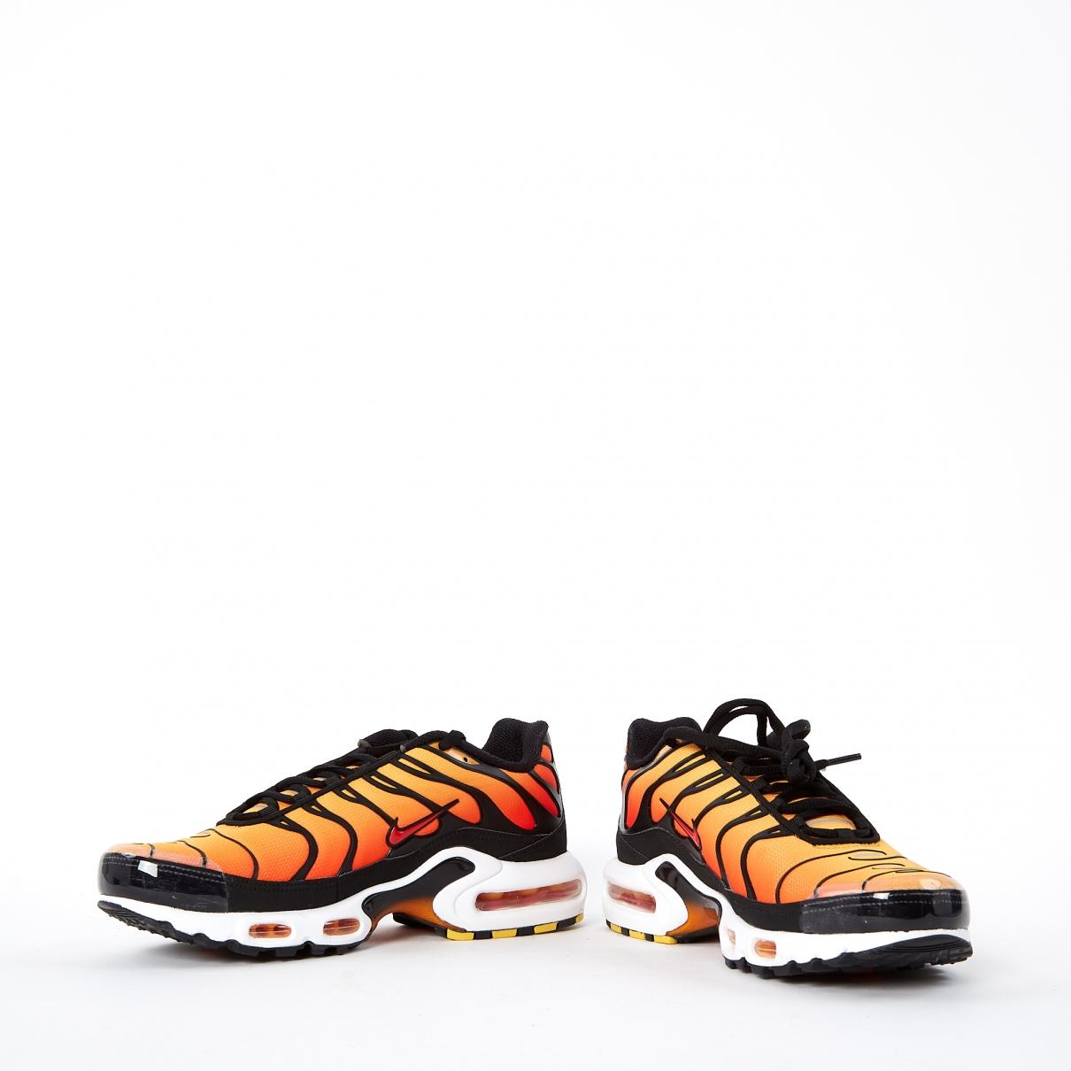 new arrival 51327 d7dfe Nike - Pre-owned Air Max Plus Orange Polyester Trainers for Men - Lyst.  View fullscreen