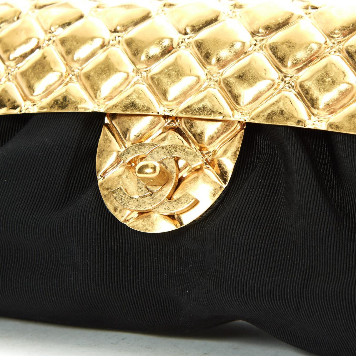 Lyst - Chanel Clutch Bag in Black bf9dae73f926d
