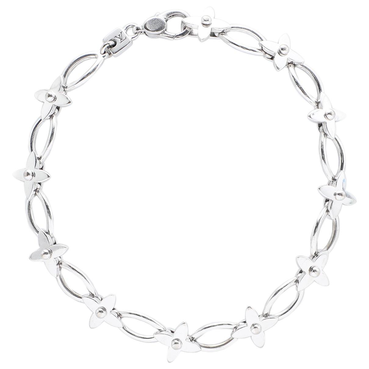 5bd1ef9aca08 Louis Vuitton Idylle Blossom White Gold Bracelet in Metallic - Lyst