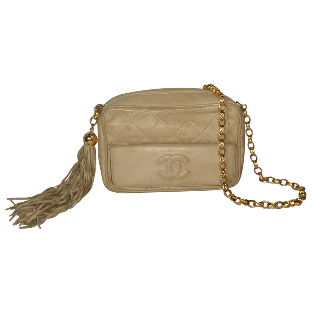 Pre-owned - Camera leather crossbody bag Chanel Jchxl