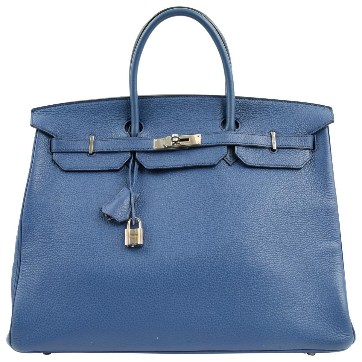 Hermès Pre-owned - Birkin leather bag A60Kt8i