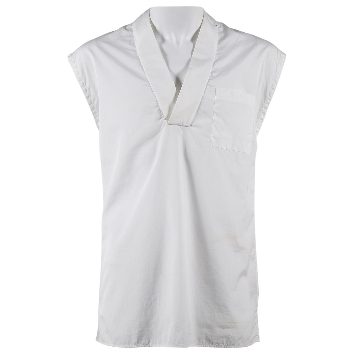 912c491b9 Lyst - Dior Pre-owned White Cotton Shirts in White for Men