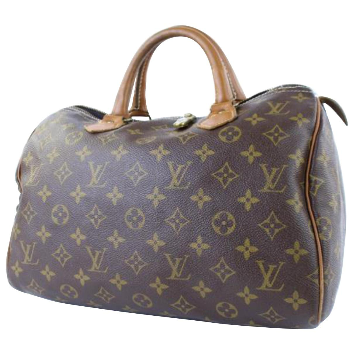 Pre-owned - Speedy cloth handbag Louis Vuitton KlOmU