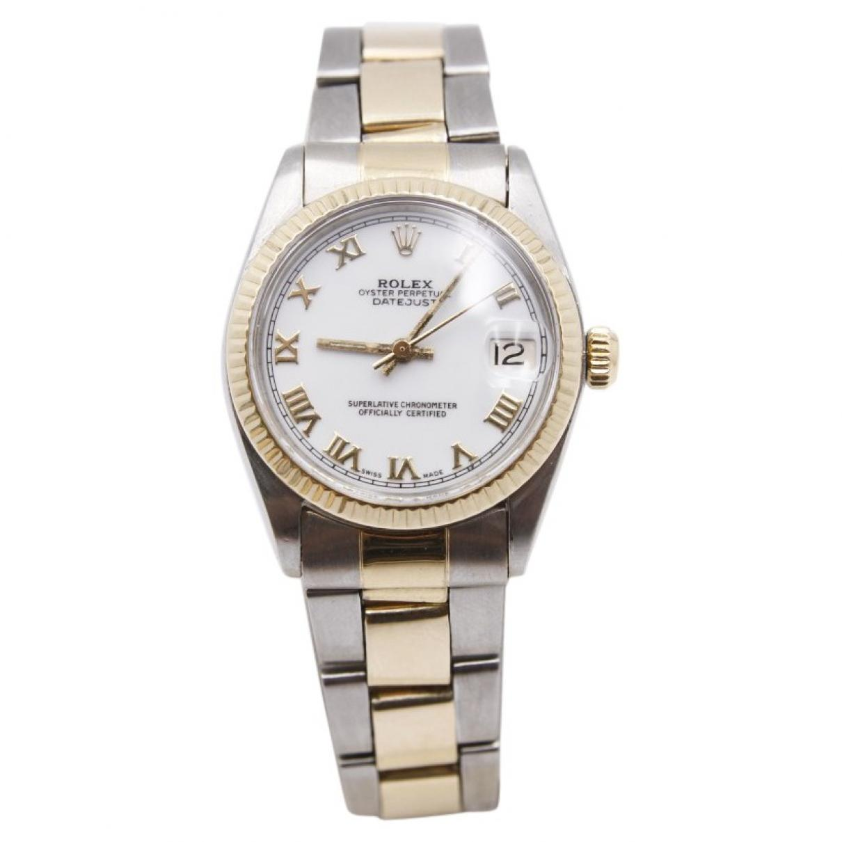 02700a86981 Lyst - Rolex Datejust 31mm Watch in Metallic