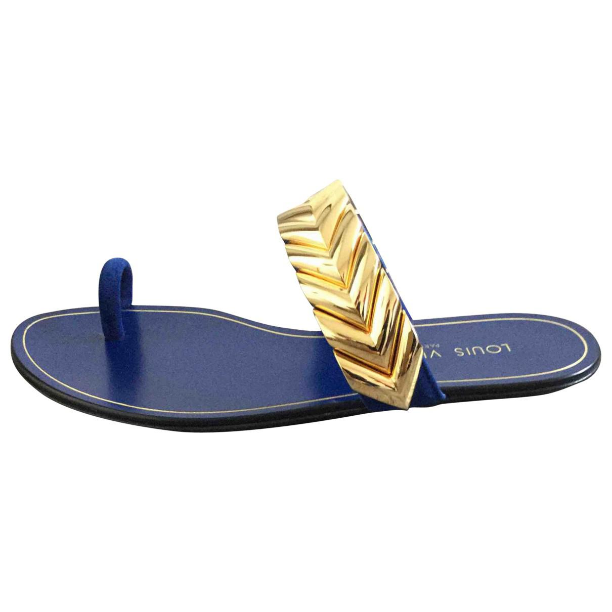 Pre-owned - Flip flops Louis Vuitton WmOVwTgi