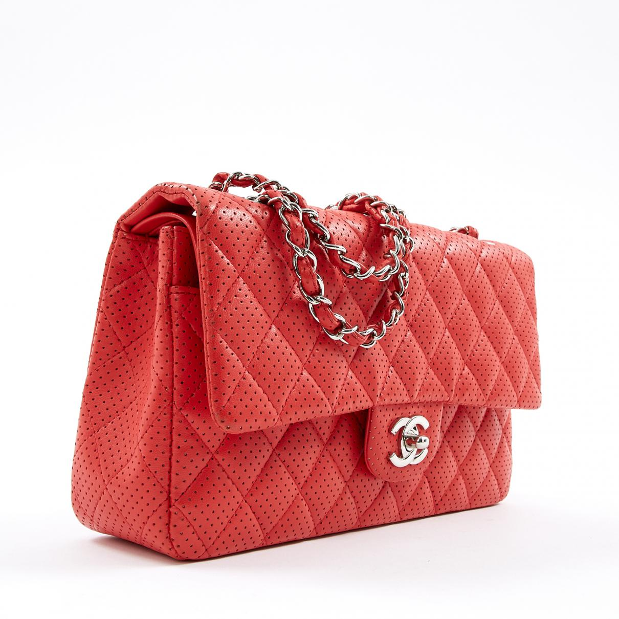 5944dfb17479 Chanel - Red Timeless Leather Crossbody Bag - Lyst. View fullscreen