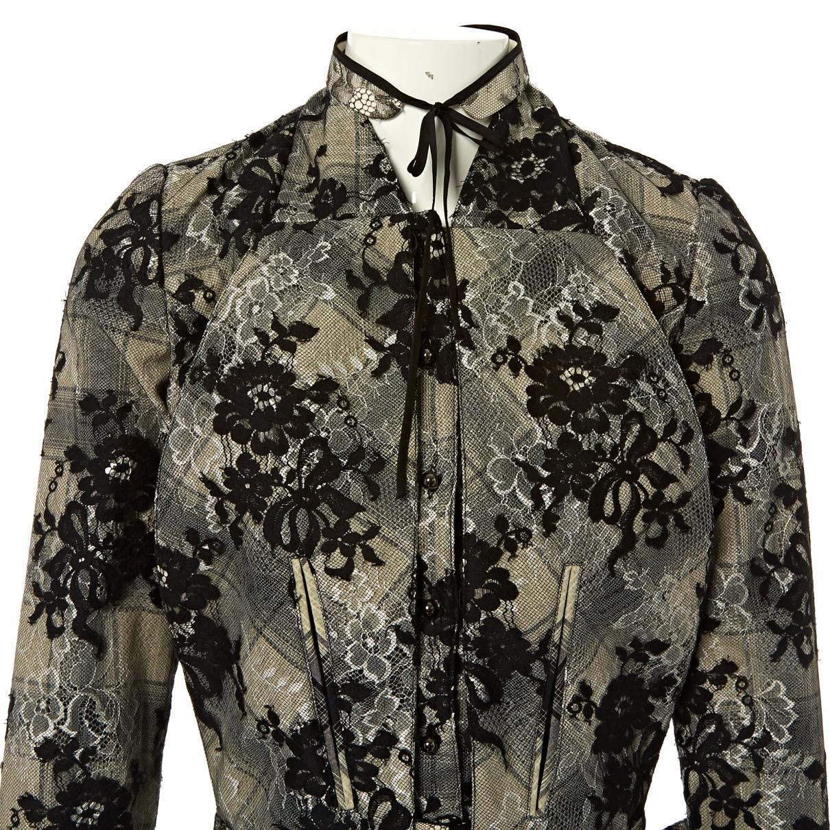 05156ea04a Huishan Zhang Black Cotton Jacket in Black - Lyst