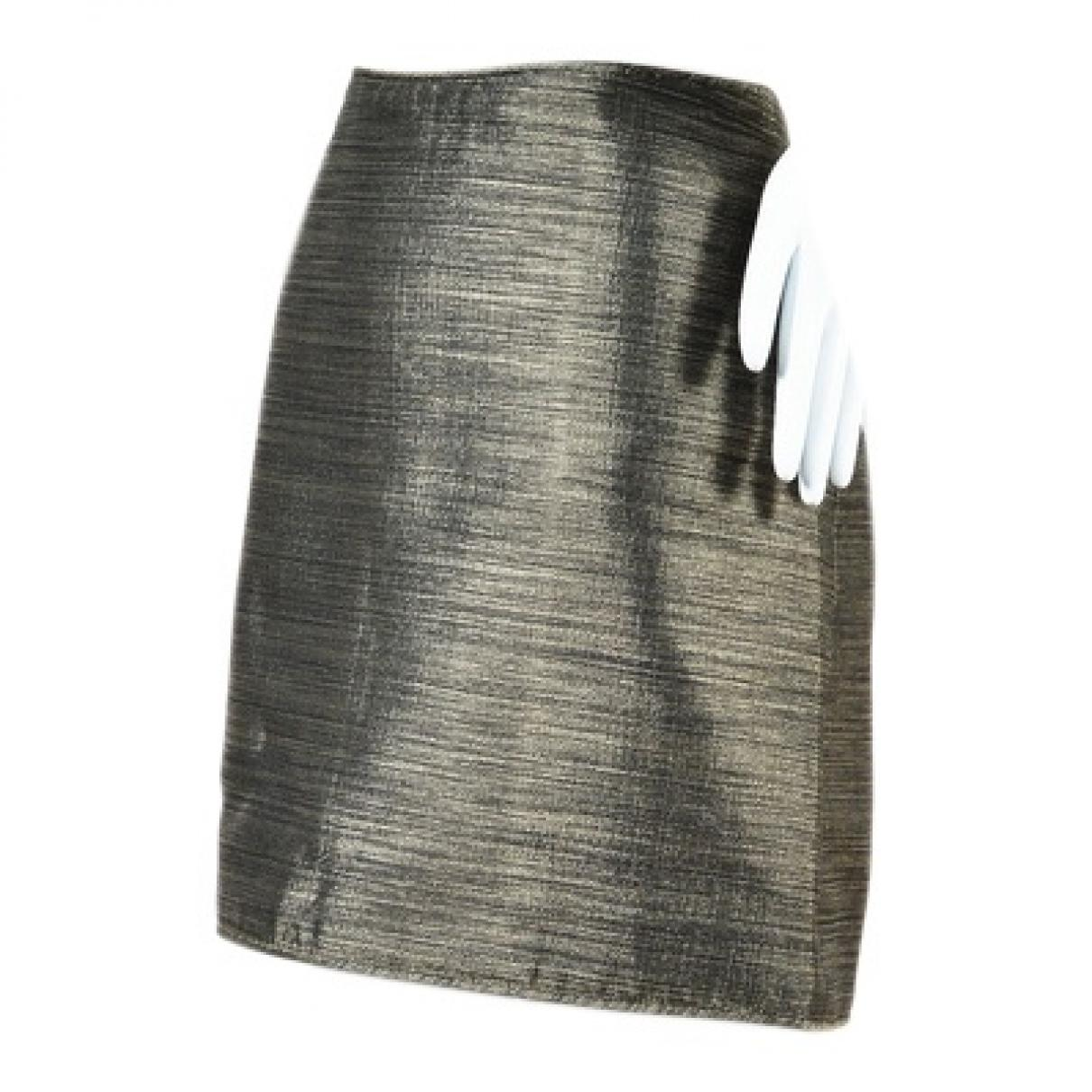 a84daf1d18 Burberry. Women's Metallic Polyester Skirt. $211 From Vestiaire Collective