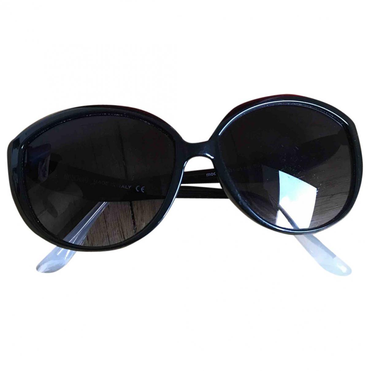 Lyst - Lunettes Moschino en coloris Noir 70bdcd2100c0