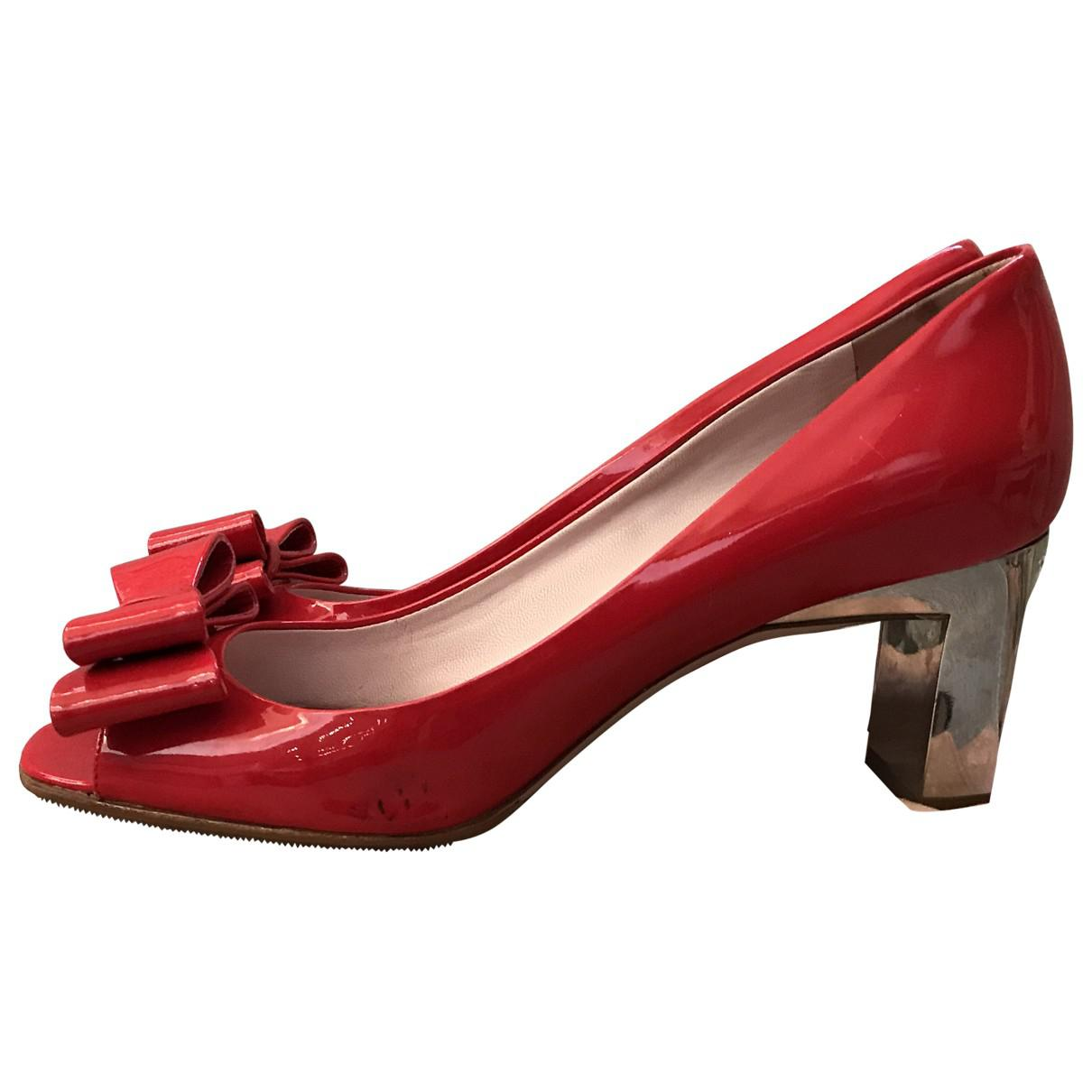 Pre-owned - Patent leather high heel Miu Miu X7yPt7eKXD