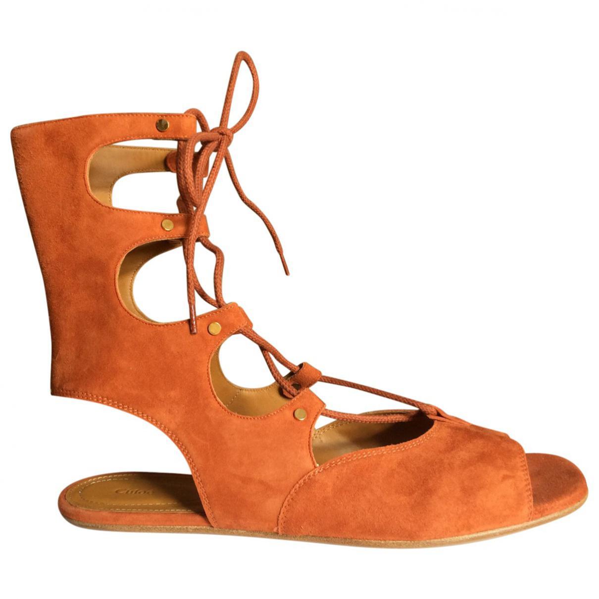 Pre-owned - Sandals Chlo KLiJEZDK