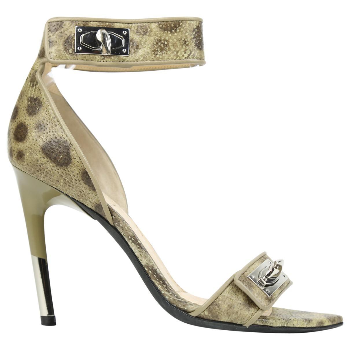 Pre-owned - Python heels Balmain V1Cofj