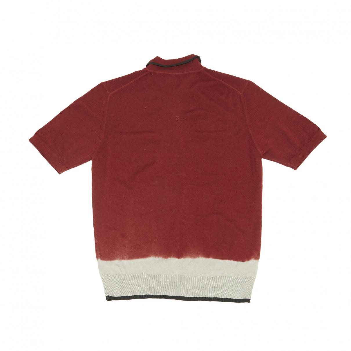 b8c1c190c Lanvin - Red Polo Shirt for Men - Lyst. View fullscreen