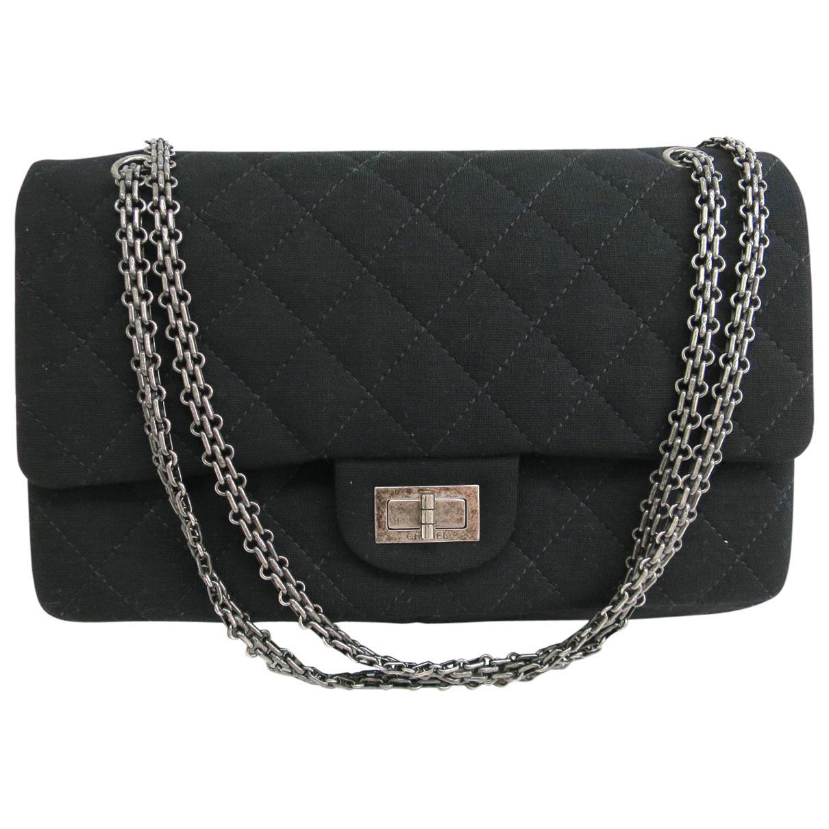 Pre-owned - 2.55 cloth handbag Chanel 0daqNj