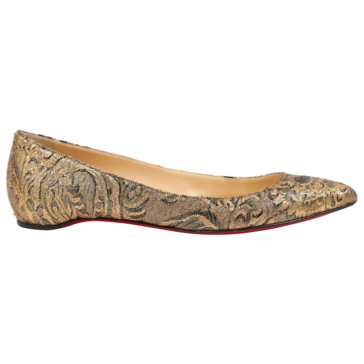 Pre-owned - Cloth ballet flats Christian Louboutin ZpS6c