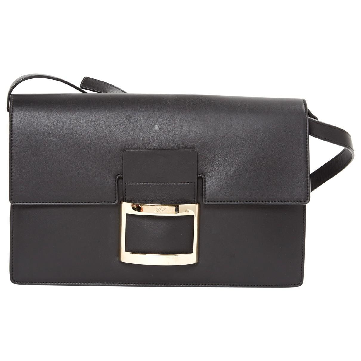 Roger Vivier Pre-owned - Black Leather Handbag LG5oSPvKWS