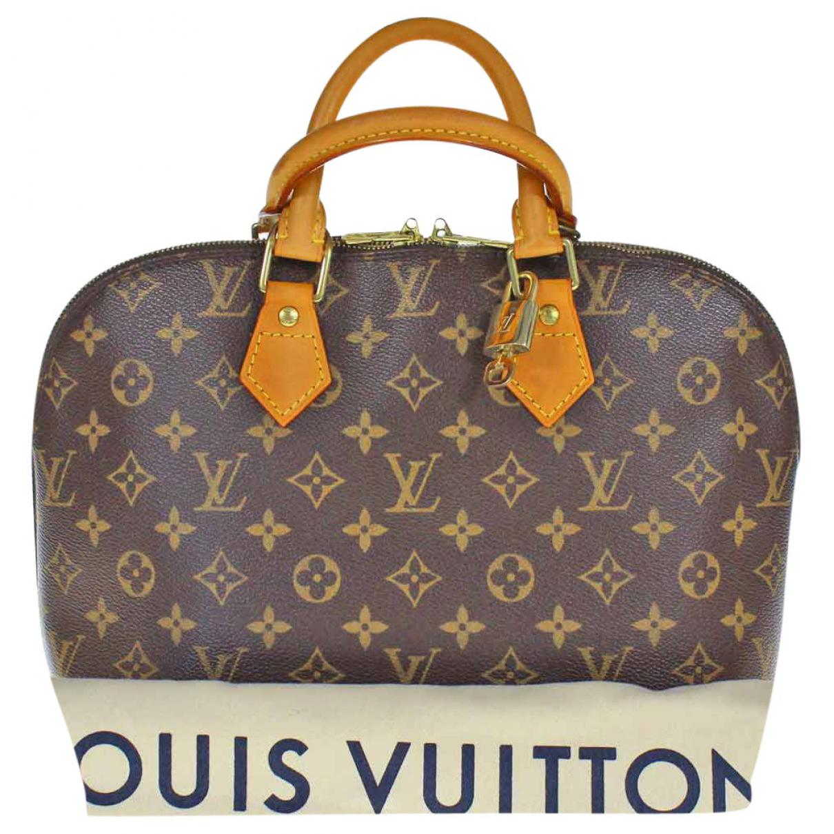 Pre-owned - Alma cloth handbag Louis Vuitton f2GKXWR