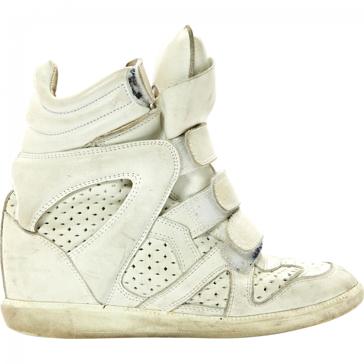 Pre-owned - Beckett leather trainers Isabel Marant Sale Enjoy Order 9Tz7Klc