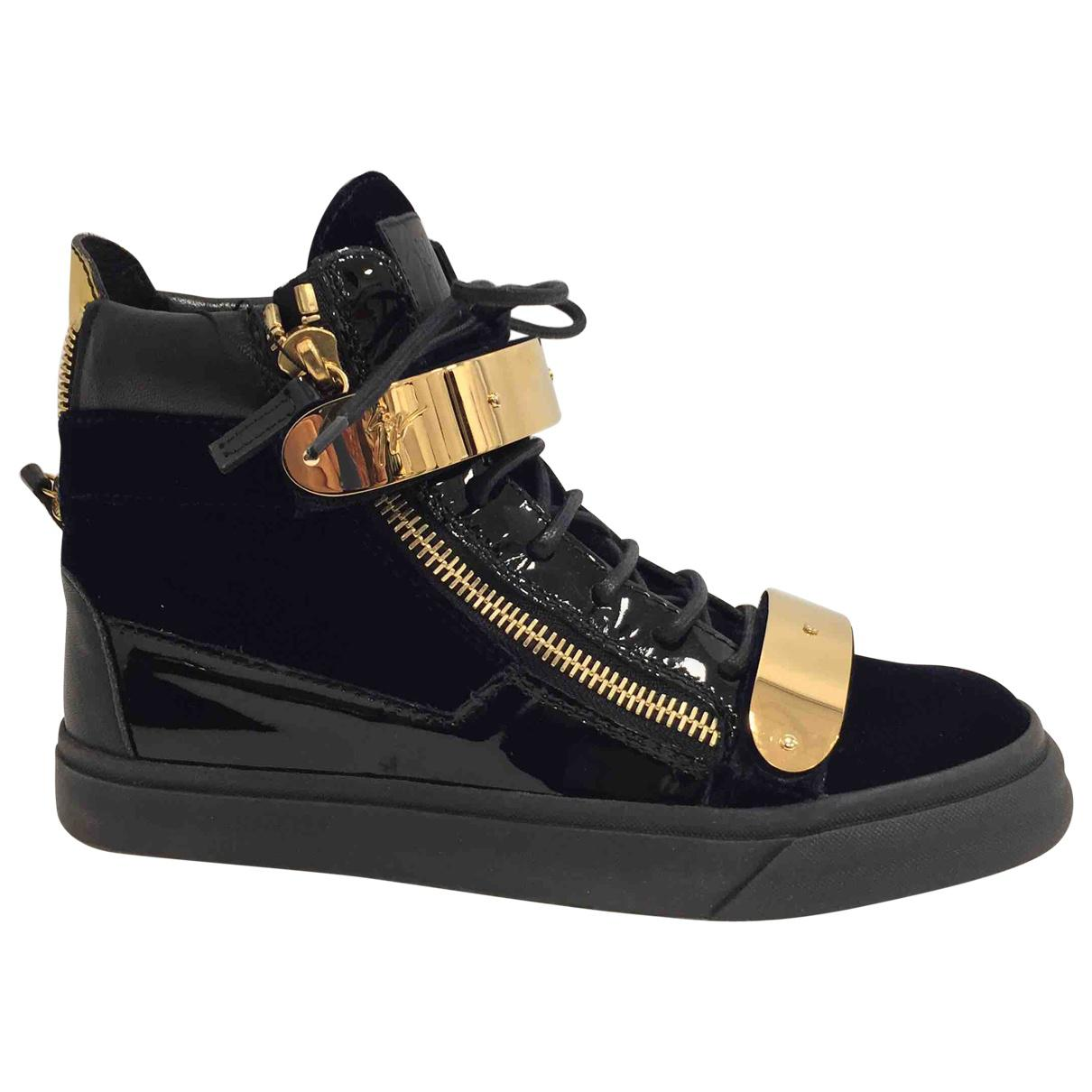 Pre-owned - Leather trainers Giuseppe Zanotti MelgbjF