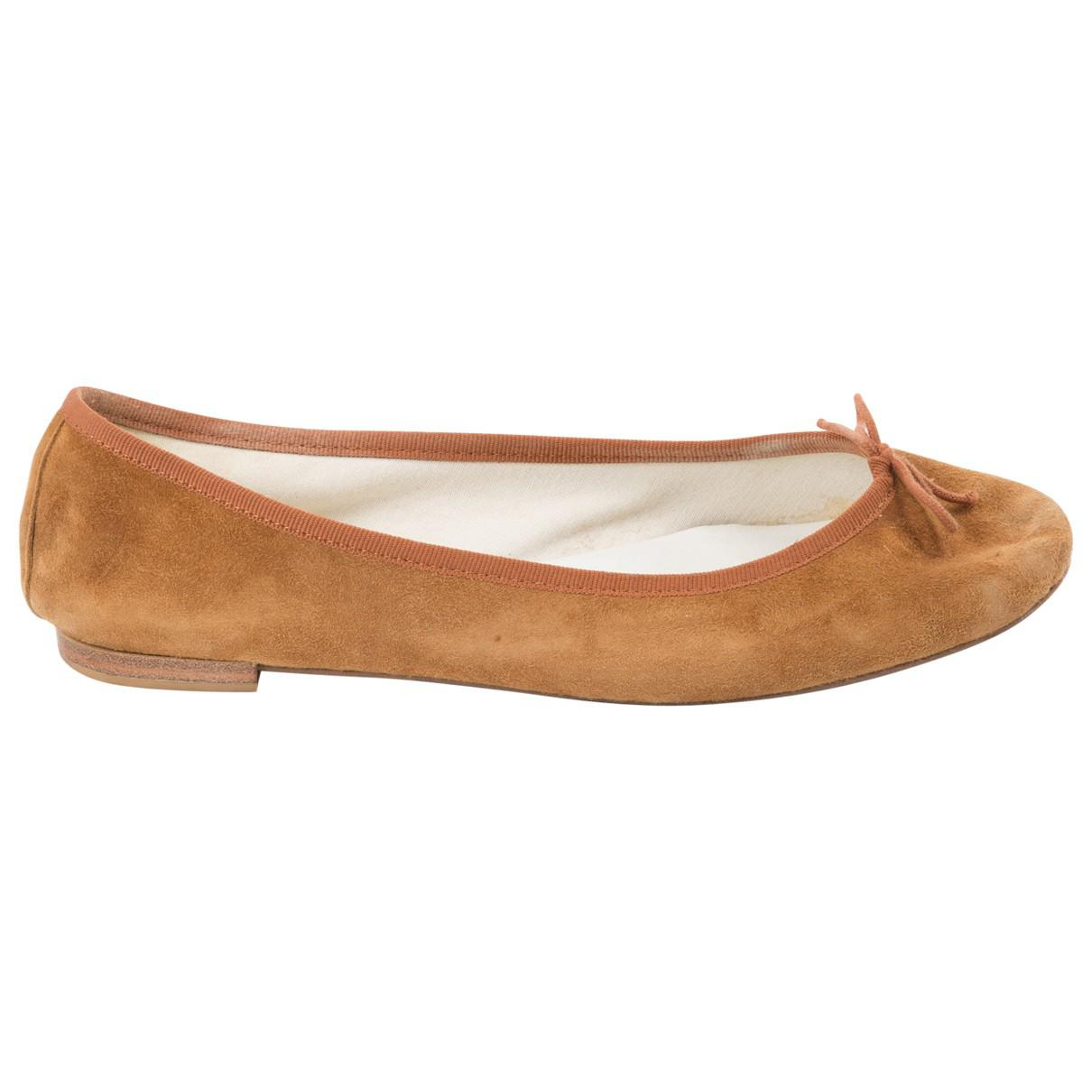 Pre-owned - Leather ballet flats Repetto FKY6D