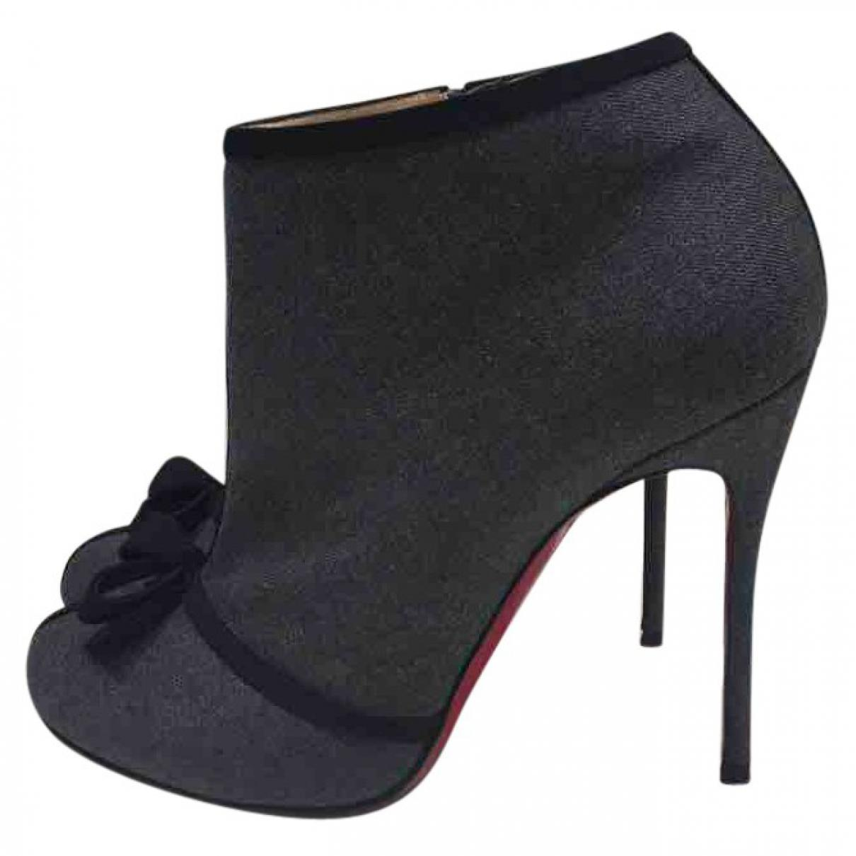 Pre-owned - Cloth ankle boots Christian Louboutin FuwBQSrf