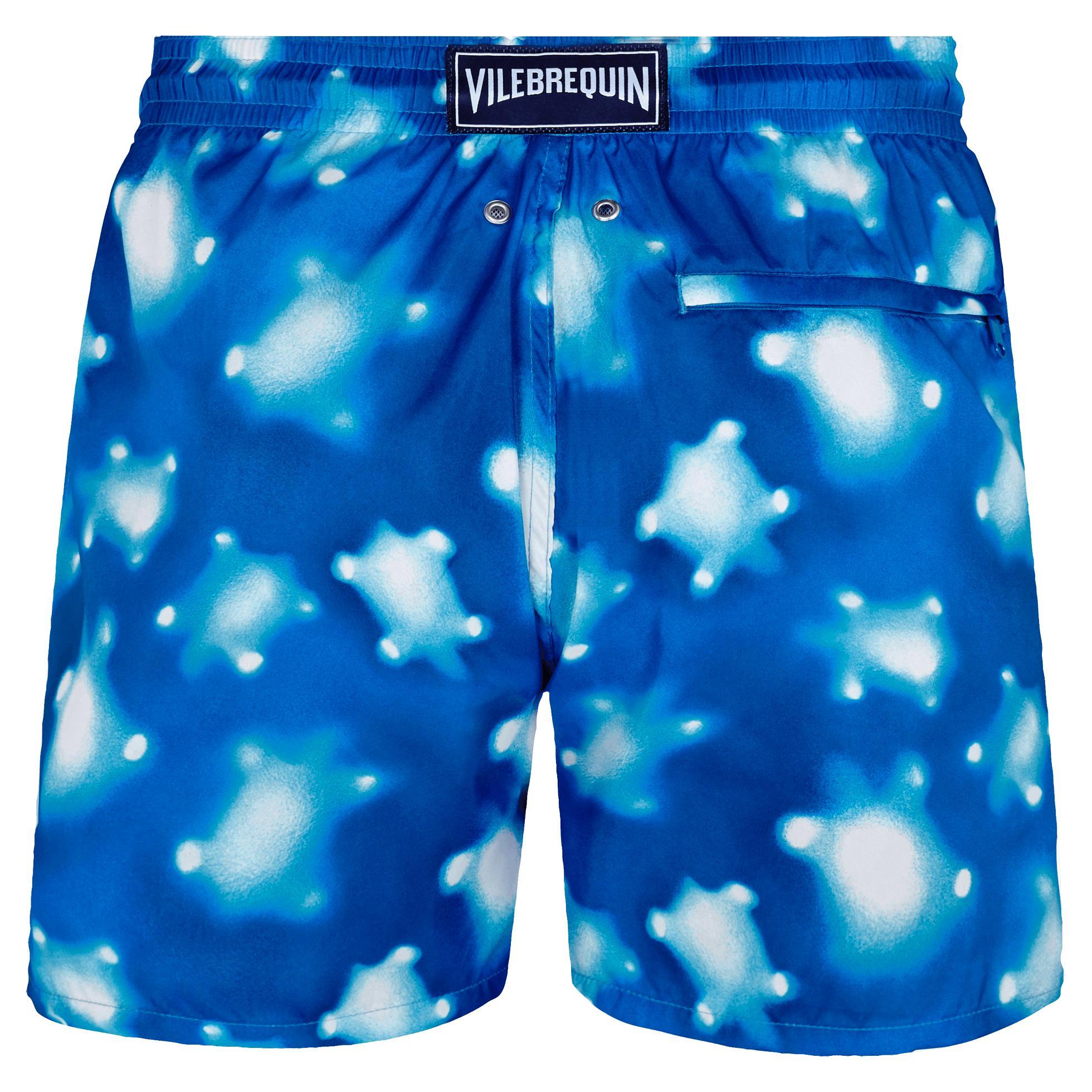 9d4a5941f9 Vilebrequin - Blue Men Swim Trunks Ultra-light And Packable Crystal Turtles  for Men -. View fullscreen