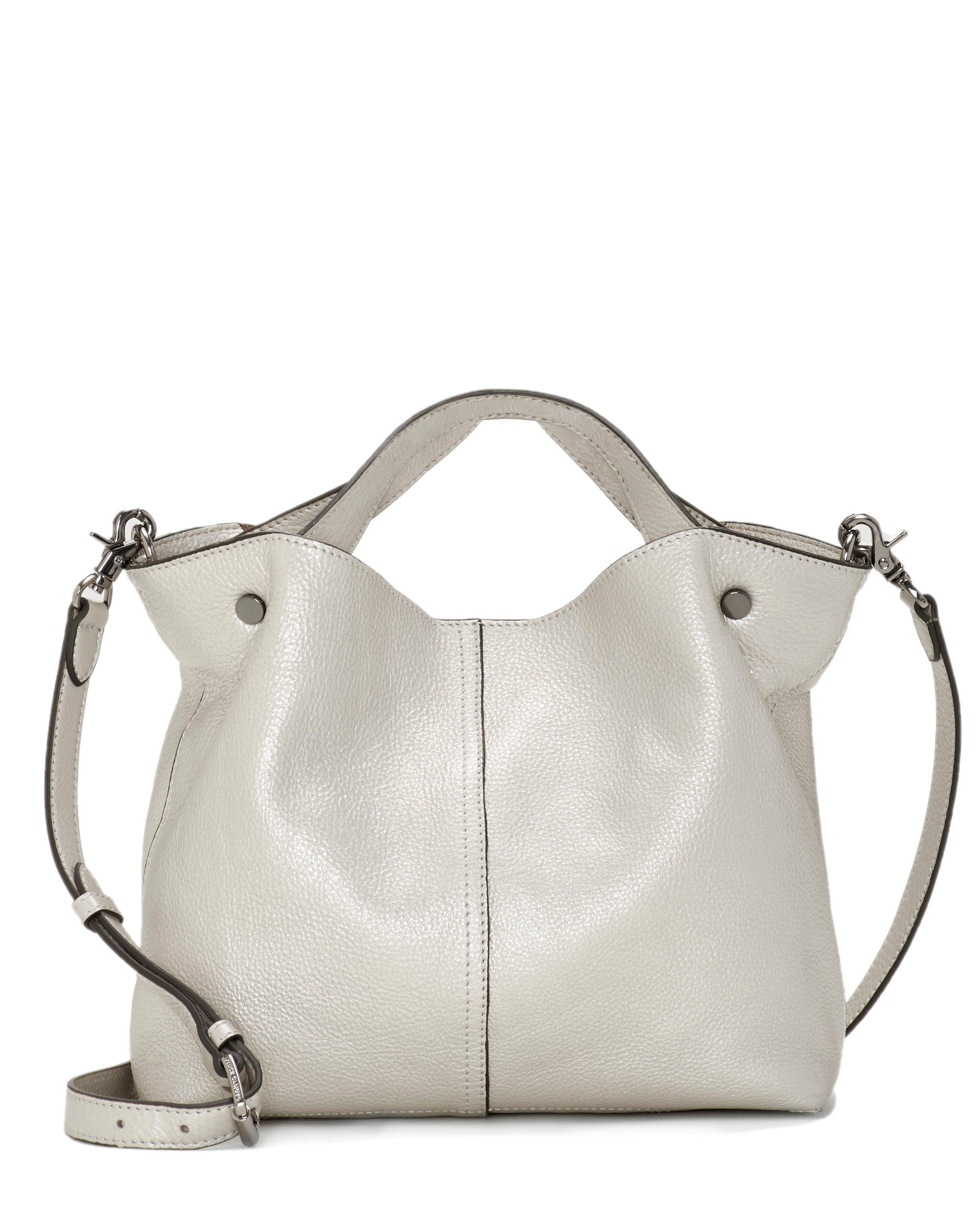 Vince Camuto Niki – Stud-accent Small Tote in Metallic - Lyst 3cdc2bb5d5eba
