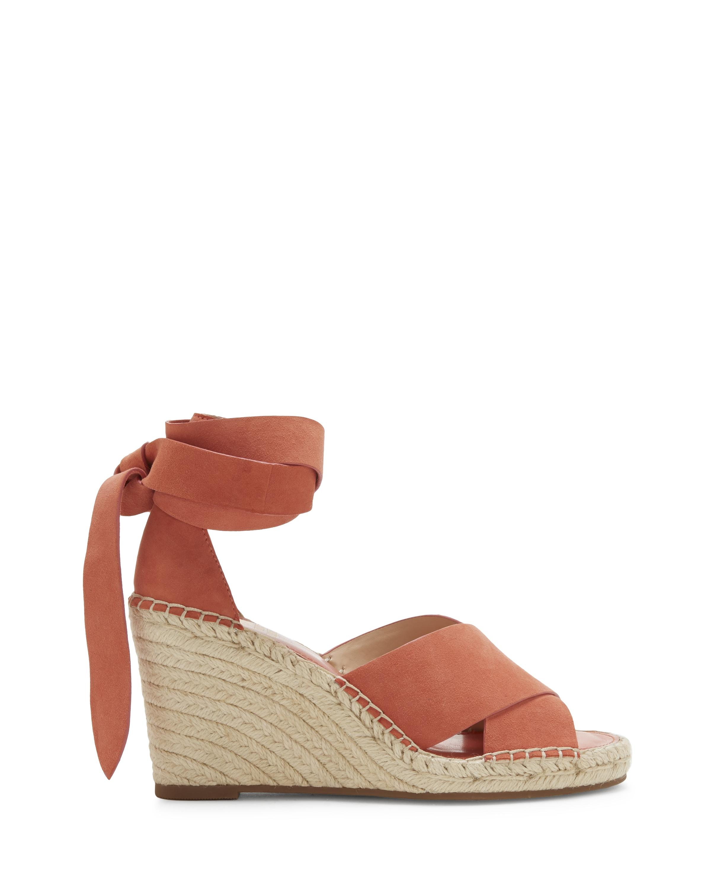 74359e7aff Vince Camuto Leddy – Espadrille Wedge Sandal in Brown - Lyst