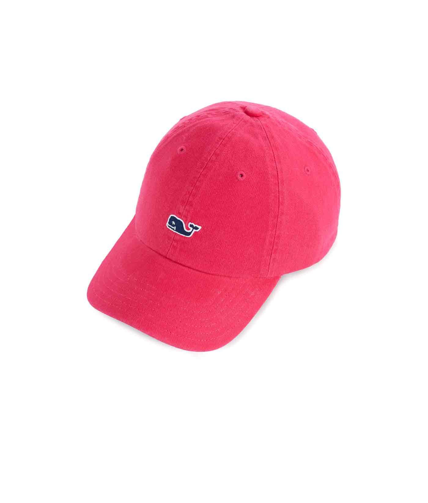 c42c999397b Lyst - Vineyard Vines Classic Twill Baseball Hat in Red