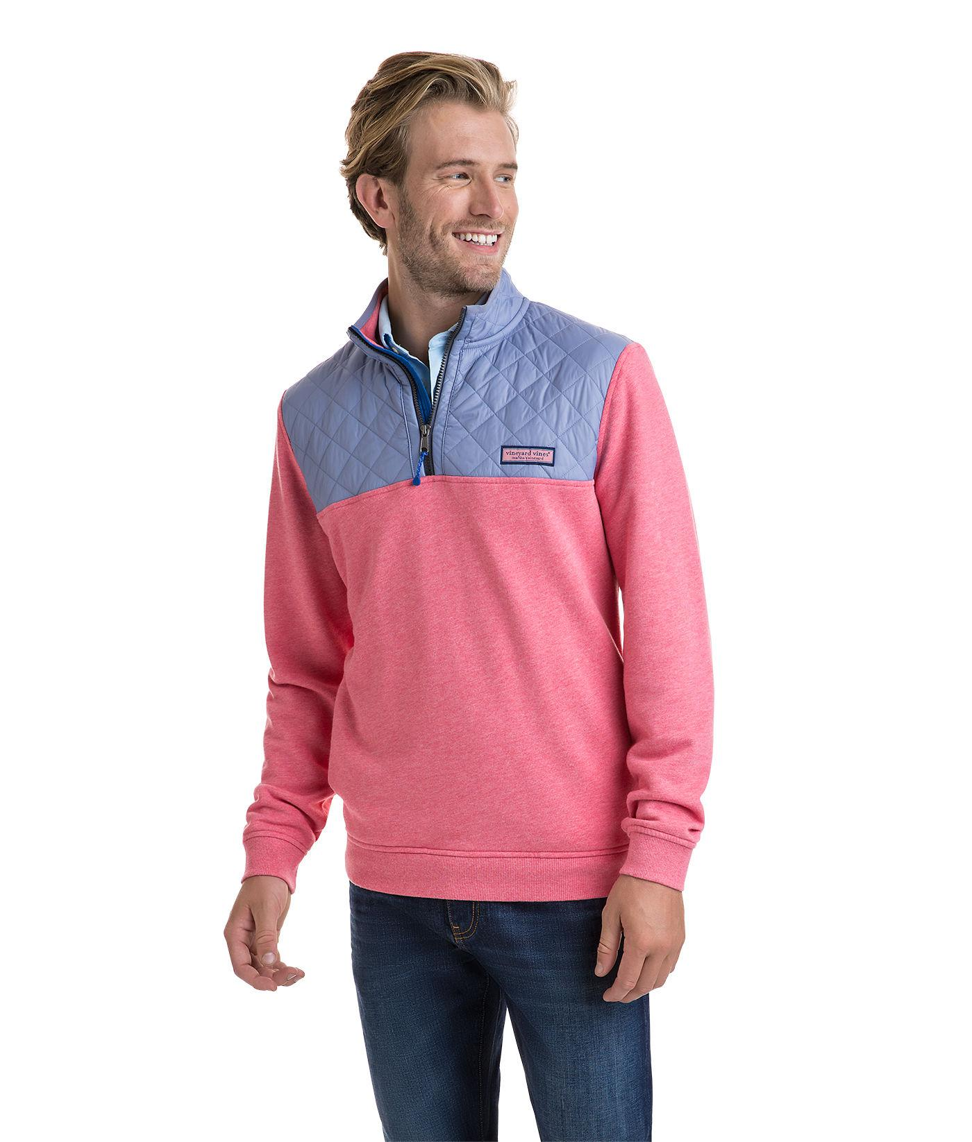 Lyst Vineyard Vines Performance Quilted Shep Shirt For Men