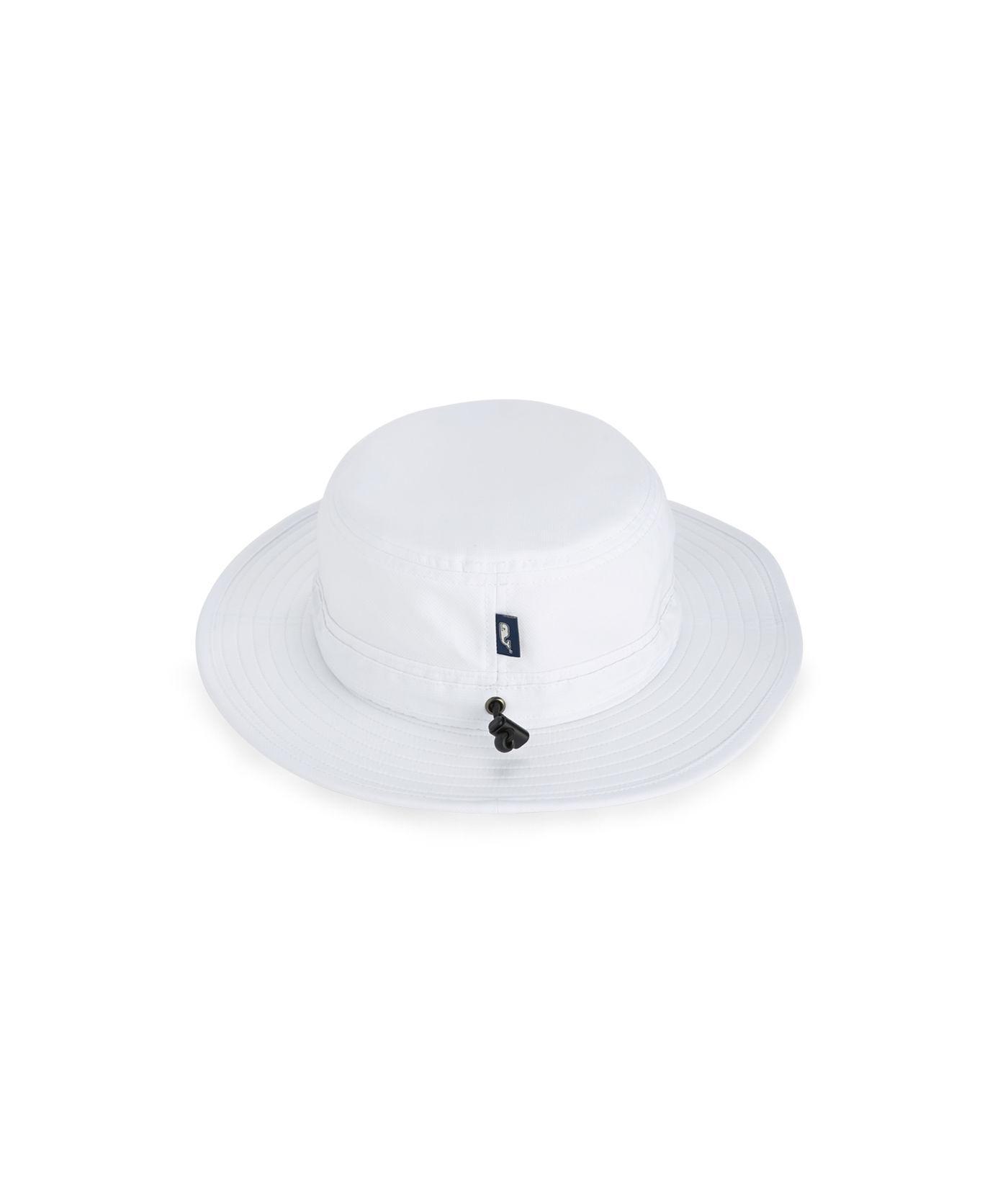 Lyst - Vineyard Vines Whale Dot Performance Bucket Hat in White for Men 430068e736a
