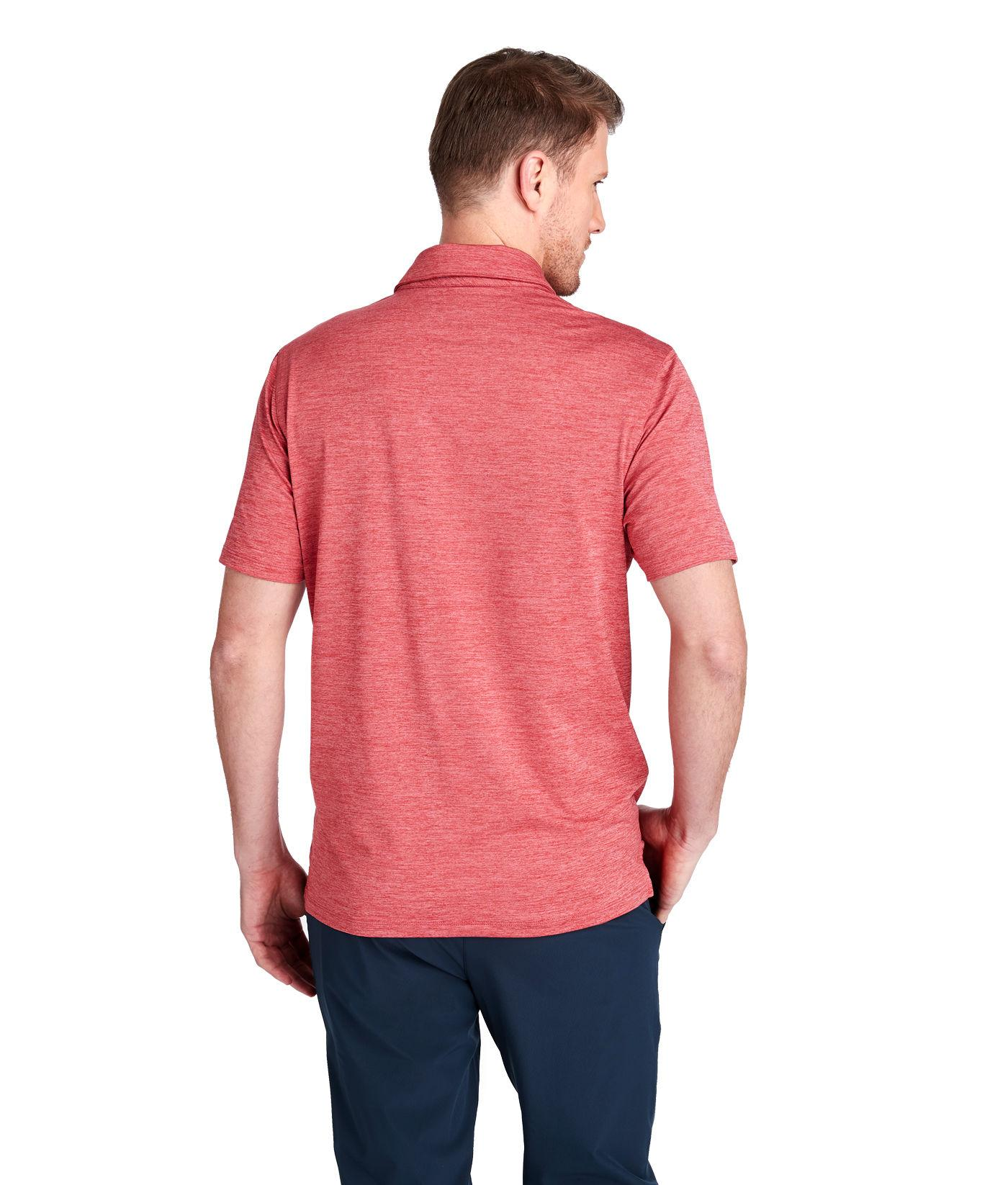 398b671df8 Lyst - Vineyard Vines St. Kitts Solid Bowline Fit Polo in Red for Men