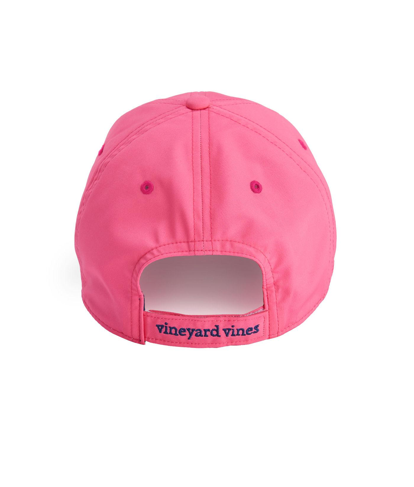 b6c903136b6 Lyst - Vineyard Vines Performance Logo Baseball Hat in Pink - Save  8.333333333333329%