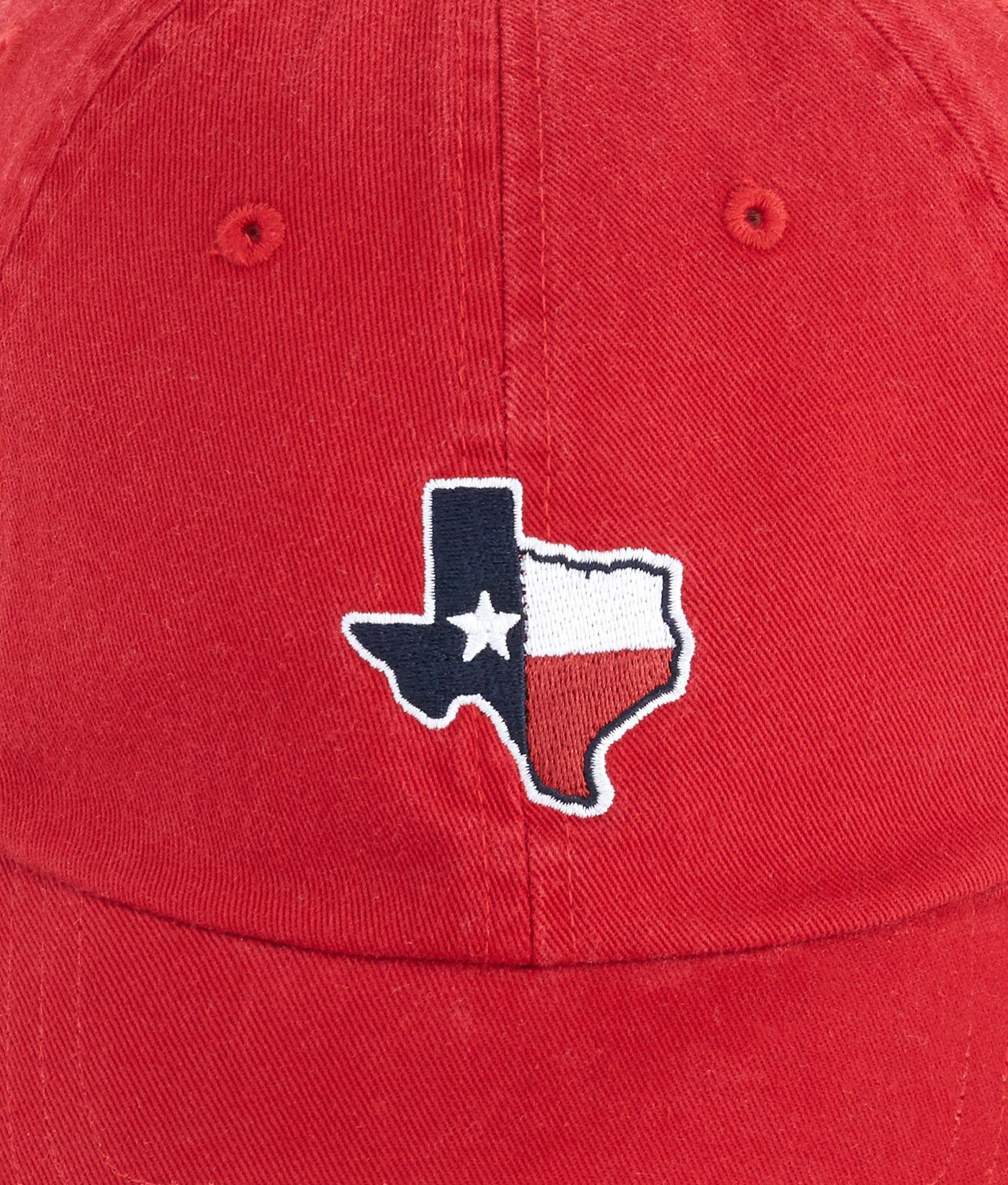 30bf357f4589e ... buy lyst vineyard vines texas state flag whale baseball hat in red for  men cf9ec 91528