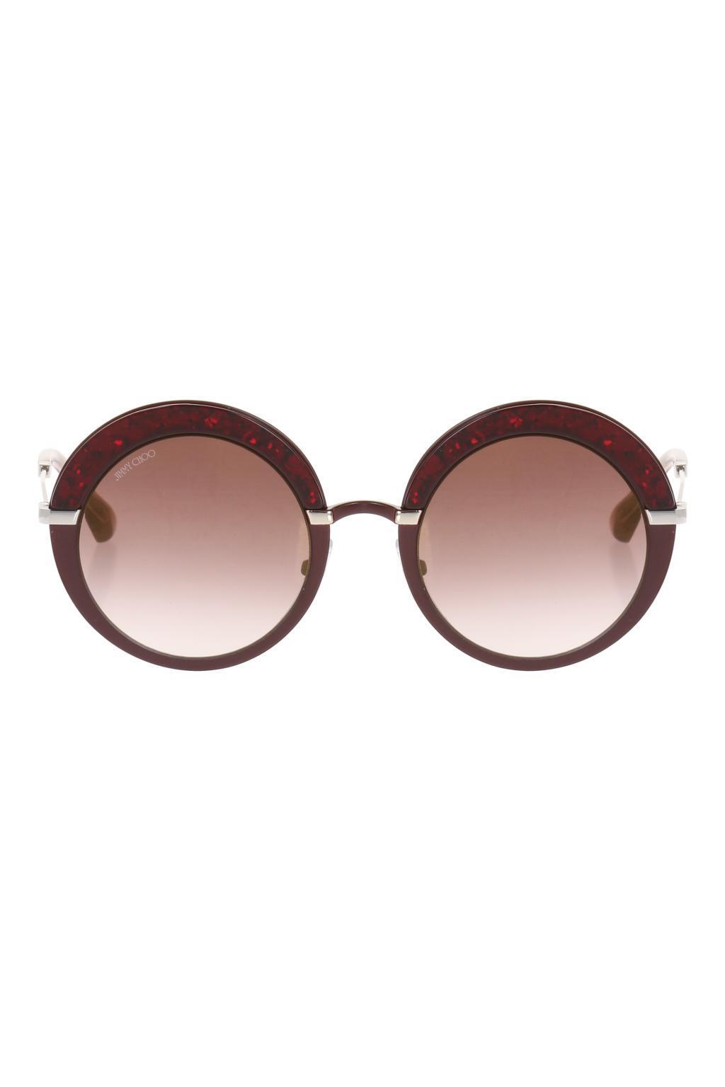 e85538e6d5bd Lyst - Jimmy Choo  gotha  Sunglasses
