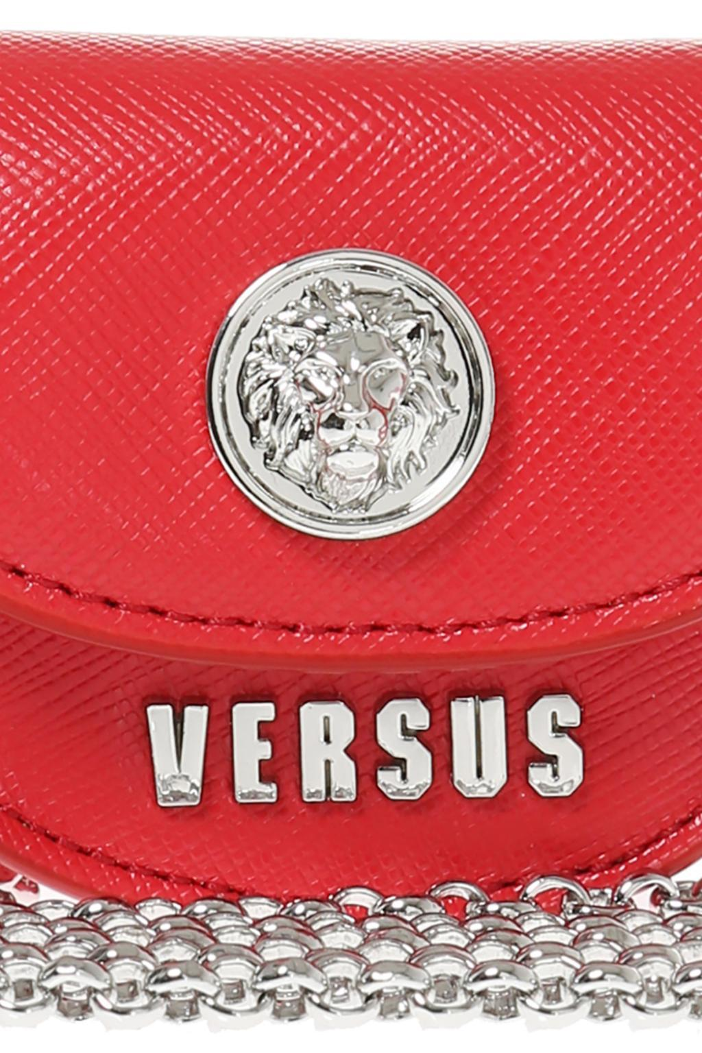 cbbc489941b Lyst - Versace Bag Charm Necklace in Metallic