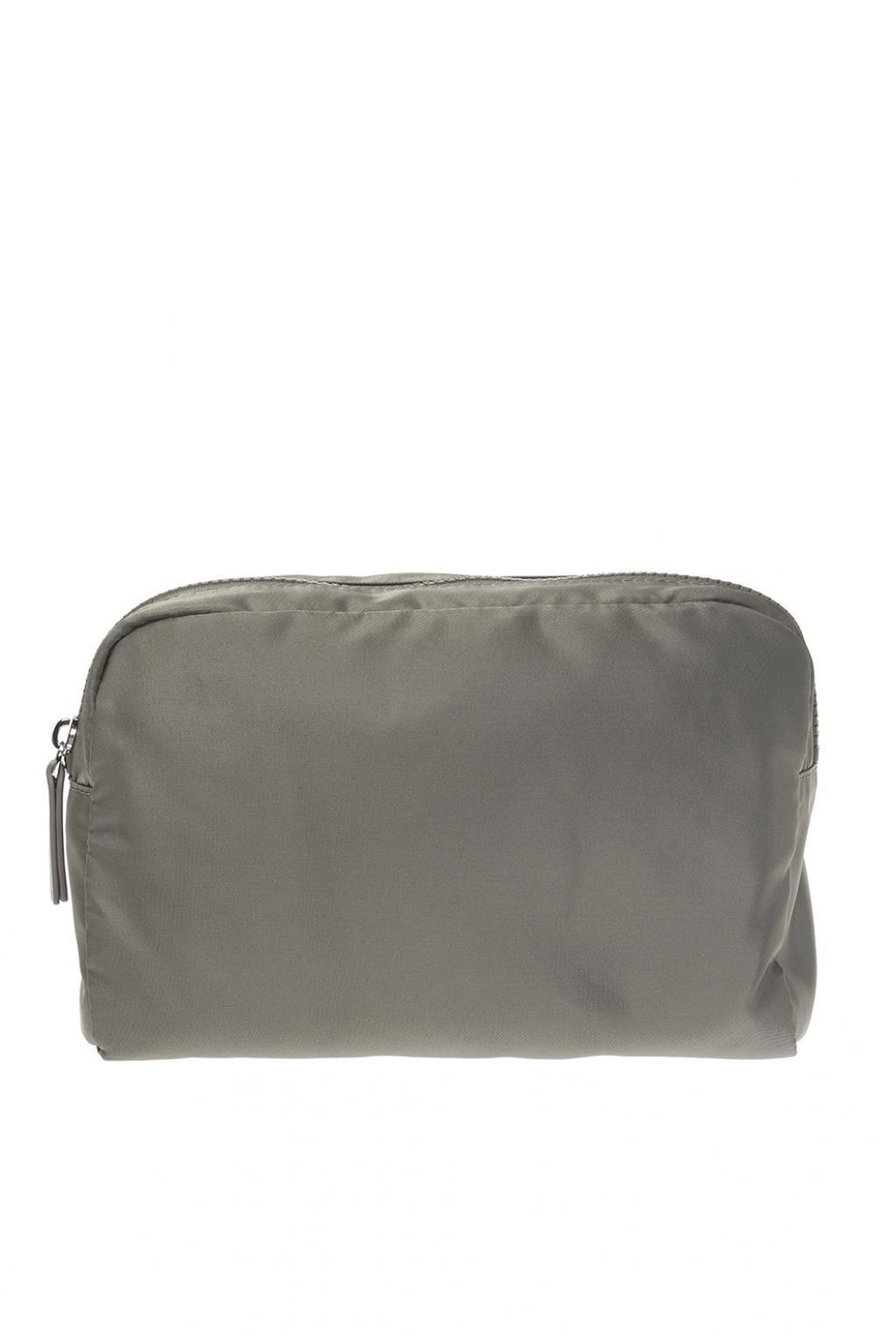 ca6a7ea70057 Lyst - Emporio Armani Branded Wash Bag in Gray for Men