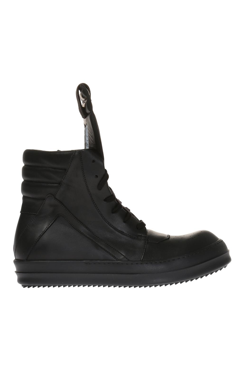 Rick Owens High-top Sneakers in Black for Men - Lyst b8ceb8d59